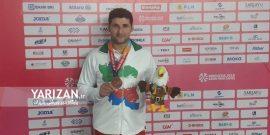 محمد خالوندی، ورزشکار کرمانشاهی دارنده مدال برنز بازیهای پاراآسیایی جاکارتا گفت که در این مسابقات رکورد خود را در جهان به اندازه دو متر افزایش داده است.