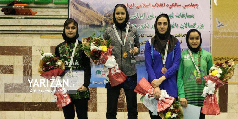 پریا خضر بانوی ورزشکار مهابادی موفق به کسب عنوان ارزشمند نایب قهرمانی در مسابقات بزرگسالان تنیس روی میز ایران شد.