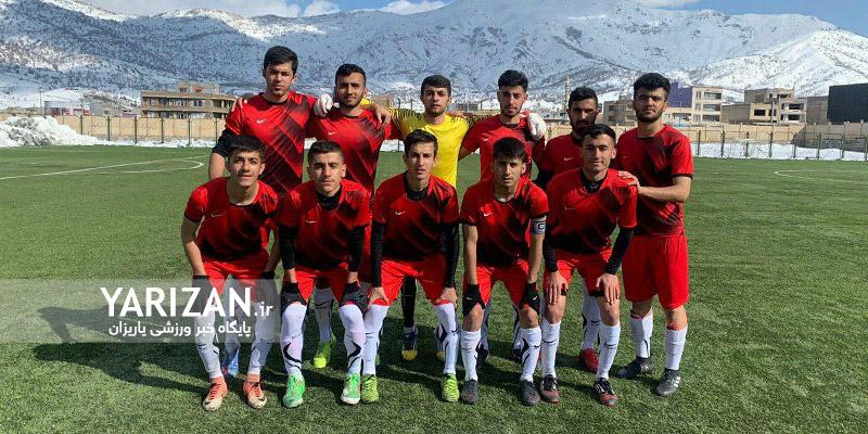 تیم های هیات فوتبال مریوان، هیات فوتبال دهگلان، نوروز سقز ، آکادمی ذولفقارنسب و شهرداری بانه به مرحله دوم مسابقات لیگ مناطق باشگاه های کشور صعود کردند.