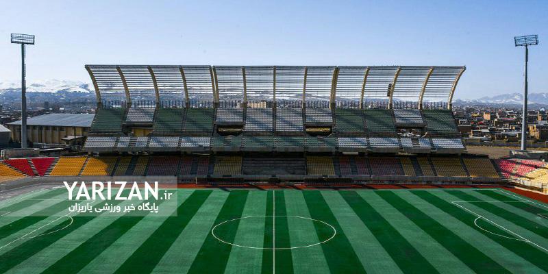 افتتاح ورزشگاه ۱۵ هزار نفری شهید مهدی باکری ارومیه سالهاست مثل سایر پروژههای بزرگ آذربایجان غربی از سالی به سال دیگر وعده داده شده و میلیاردها تومان خرج از بیتالمال روی دست دولت میگذارد و امسال نیز همین پروسه برای آن تکرار شد.