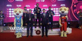 تیم ملی کشتی فرنگی امید ایران در رقابت های قهرمانی آسیا در مغولستان با هدایت مربی سنندجی خود بعنوان قهرمانی دست یافت.