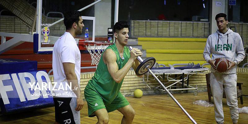 تیم ملی بسکتبال نوجوانان ایران اردوی تدارکاتی خود را با حضور ورزشکار ایلامی در تهران آغاز کرد.