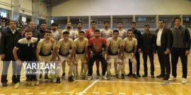 شاهین کرمانشاه در فینال لیگ دسته یک فوتسال کشور در مقابل هایپر شاهین شهر برنده شد و در کرمانشاه جشن قهرمانی گرفت.