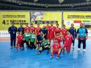 دیدار تیم های ملی فوتسال زیر ۲۰ سال ایران و چین تایپه با پیروزی پرگل فوتسالیستهای کشورمان در نخستین بازیشان به پایان رسید.