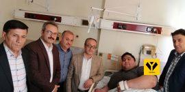 سیامند رحمان قهرمان اشنویه ای وزنه برداری پارالمپیک و جهان، به دلیل عفونت لوزه دربیمارستان امام خمینی(ره) شهر ارومیه مورد عمل جراحی قرار گرفت.