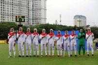 تیم ملی فوتبال جوانان بانوان ایران دختران زیر 19 سال در رقابت های آسیا