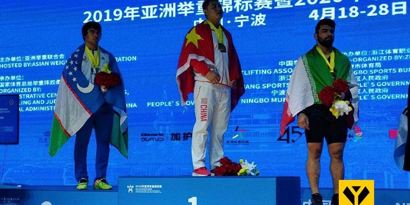 در رقابت دسته 109 کیلوگرم مسابقات وزنه برداری قهرمانی 2019 بزرگسالان آسیا علی هاشمی از ایلام مدال برنز مجموع و نشان طلای حرکت دو ضرب را گرفت و کیا قدمی از کرمانشاه در جایگاه پنجم ایستاد.