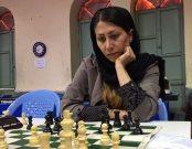 بهنوش محمدی از ایلام در بخش شطرنج سریع موفق به کسب درجه بین المللی شد.