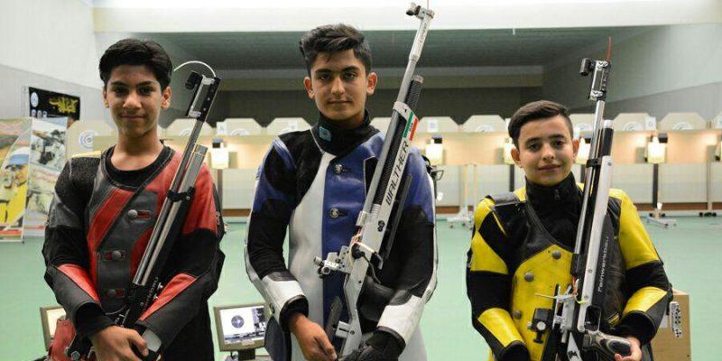 پارسا امیدیان در رشته تفنگ بادی مدال طلای مرحله دوم مسابقات تیراندازی آزاد قهرمانی کشور را کسب کرد.