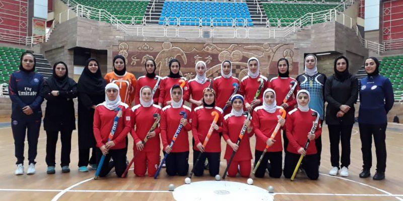 اردوی تدارکاتی تیم ملی هاکی بانوان ایران