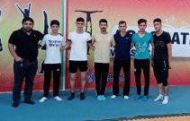 به گزارش یاریزان؛ تیم آکروژیم مهاباد بر جایگاه سوم رقابت های لیگ برتر ایران ایستادند.