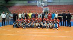 مسابقات بسکتبال قهرمانی نوجوانان آذربایجان غربی با قهرمانی مقتدرانه تیم مهاباد به پایان رسید.