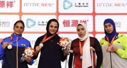مریم هاشمی سانداکار تیم ملی ووشو کشورمان با کسب مدال طلا در رقابتهای جهانی چین به پنجمین طلای جهانی خود دست یافت.