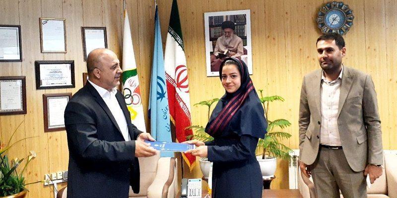 به گزارش یاریزان؛ فاطمه ابراهیمی به عنوان نایب رئیس بانوان هیات وزنه برداری آذربایجان غربی انتخاب شد و حکم خود را از عبدالله چمنگلی مدیرکل ورزش و جوانان این استان دریافت کرد.