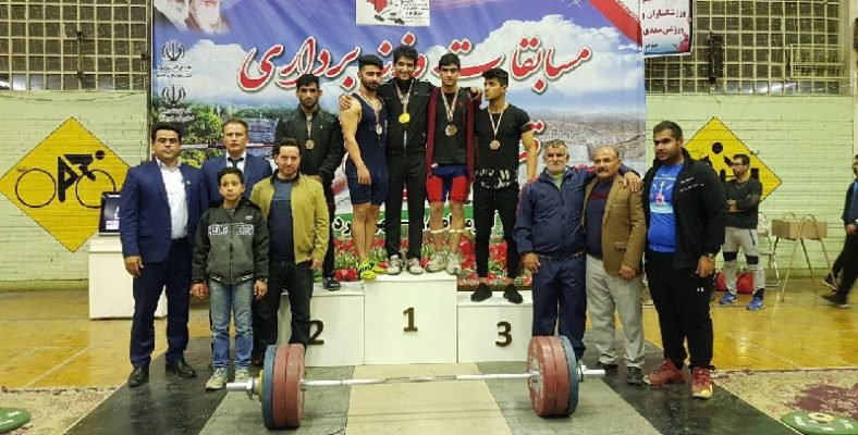 احمد احمدنژاد ملی پوش مهابادی در مسابقات قهرمانی وزنهبرداری جوانان کشور به میزبانی چهارمحال و بختیاری موفق به کسب مقام قهرمانی شد.