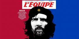 بیانیه لیونل مسی باعث شد تا نشریه «اکیپ» با تیتری جالب به استقبال این اقدام کاپیتان بارسلونا برود و از وی باز هم یک قهرمان ساخته شود.