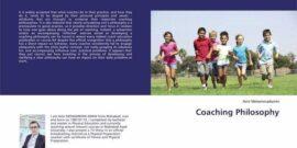 """کتاب جدید امیر محمد امینی نویسنده مهابادی تحت عنوان """"فلسفه مربیگری ( Coaching philosophy ) """" توسط یکی از انتشارات جهانی به چاپ رسید."""
