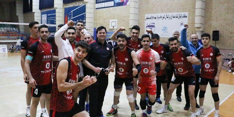 در هفته هفتم مرحله مقدماتی دور رفت لیگ دسته یک والیبال ایران، تیم شهرداری جوان ارومیه موفق به شکست ملوان تهران شدند.